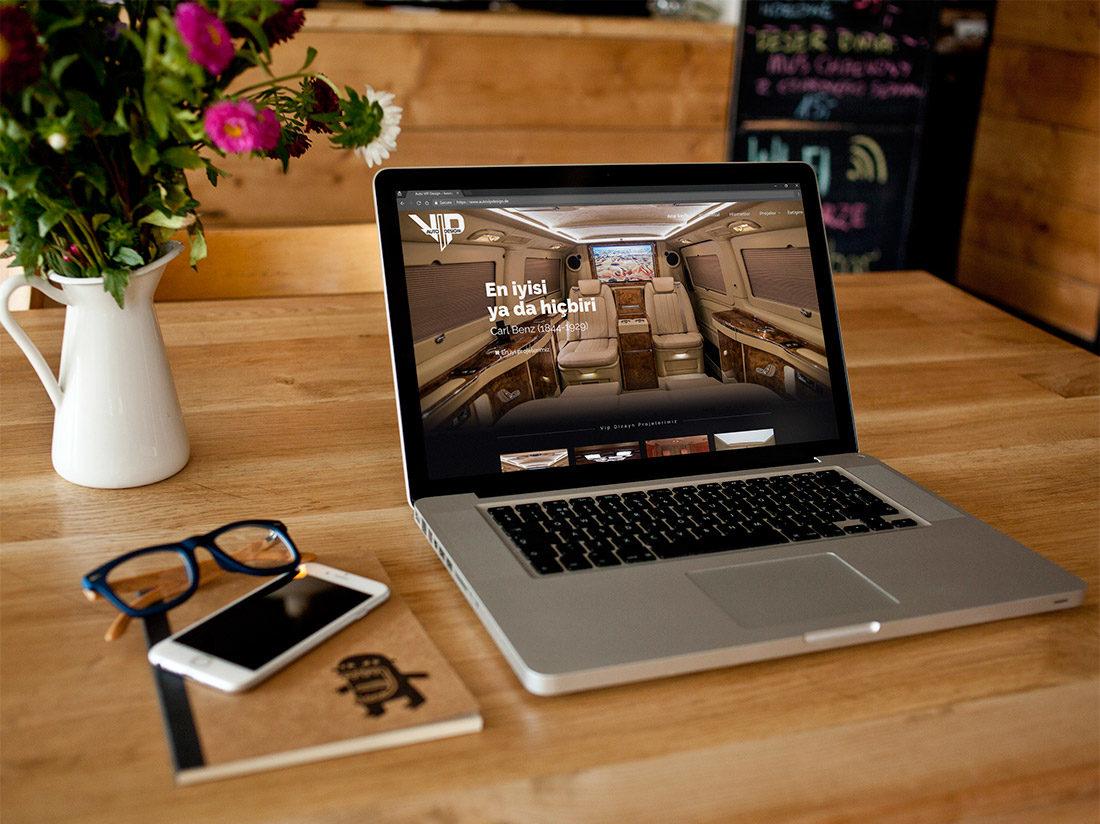 Auto VIP Design Web Sitesi