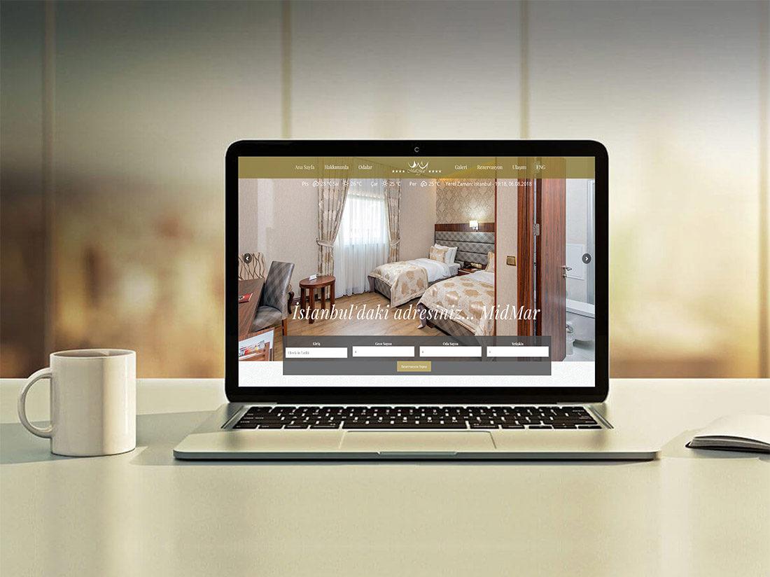 Midmar Hotel Web Sitesi