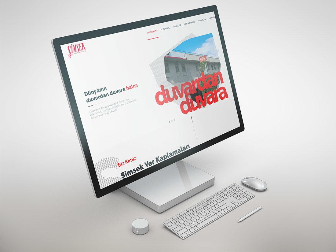 Şimşek Yer Kaplamaları Web Sitesi